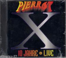 PIERROT: 10 JAHRE LIVE CD SEALED RARE GERMAN HARDROCK HAMMERSCHMITT