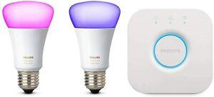 Philips Hue 10W E27 LED Lampe Starter Kit (929001257307)