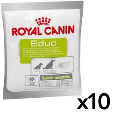 10 x Royal Canin Educ Dog Puppy Training Reward Snack Treat - Low Calorie - 50g