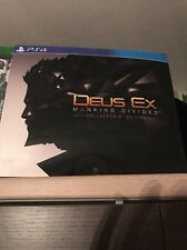 DEUS EX MANKIND DIVIDED: COLLECTOR'S LIMITED EDITION - ITALIANO  - PS4