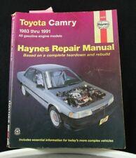 Haynes Auto Repair Manual - 1983 thru 1991 Toyota Camry 92005