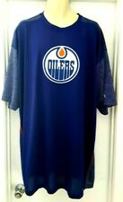 EDMONTON OILERS Mens Jersey Size 3XLT Majestic Cool Base New NHL Big & Tall Blue