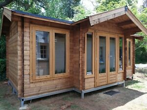 Solid Wood Kitset Cabin 19.4m2 (Brook River by SheShed)