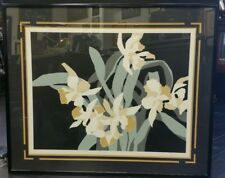 Michell Abstract Lithograph 'Cattleya' Limited Edition 5/500
