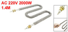 Stainless Steel Coil W Type 1.4M Long Heating Element 2000W 220V AC