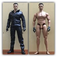 "CUSTOM 1/6 Scale Black coat + pants For 12"" Male Action Figure Toys Dolls"