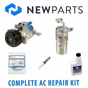 For Chevrolet Tahoe GMC Yucon Complete AC A/C Repair Kit W/ Compressor & Clutch