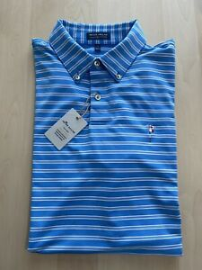 Friars Head Peter Millar Crown Crafted Summer Comfort Golf Polo L
