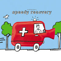 """Get Well Soon Card – Speedy Recovery – 6.25"""" x 6.25"""" – 9094 OCEH"""