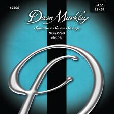 DEAN MARKLEY Jeu de Cordes électrique NICKEL STEEL Signature Jazz 12-54 - 2506