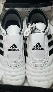 Adidas Martial Arts Taekwondo Karate MMA TKD ADI-SM II Shoes US 8.5 BOX DAMAGED