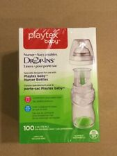 New PLAYTEX Baby Nurser Drop-Ins Liners 4 oz BPA Free Bottles 100 Pre-Sterilized