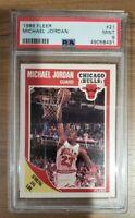 1989 Fleer Michael Jordan (#21) Chicago Bulls HOF PSA 9 MINT