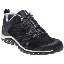 New Womens Merrell Black Rapid Bow Textile Trainers Lace Up