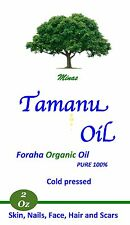 Tamanu Oil Foraha Organic 100% Pure Unrefined Cold Pressed 2 Oz  No Additives.