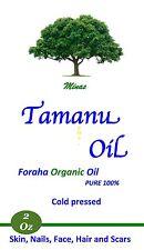 Tamanu Oil Foraha Organic 100% Pure Unrefined Cold Pressed 2 Oz  No Additives.