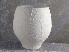 Heinrich Bisquit Porzellan Selb Design Art Vase Nr 1937 18 cm 70er Tischvase