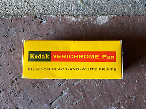 Kodak Verichrome Pan Film VP 120 120mmBlack White Print Film 125 ASA Expired