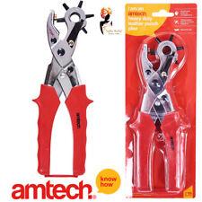 Amtech Cuir Punch /& Oeillet Pince Set 100pc avec oeillets-B1460
