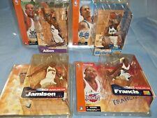 McFarlane NBA Basketball 4 Figure Lot - Allen, Francis, Jamison, McGrady SEALED