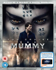 The Mummy 3D (Blu-ray 2D/3D, 2017) BRAND NEW!!  Tom Cruise  BRAND NEW!!