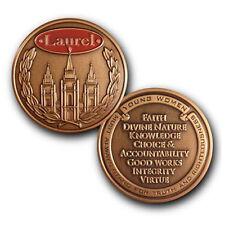 LDS / Mormon Young Women's Laurel Keepsake Challenge Coin