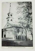 Postcard Smith Memorial Church Hillsboro New Hampshire 1941