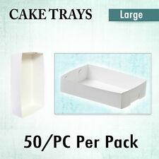 Disposable Cake Tray  Open Standard Large 50/Pk - Cupcake Boxes