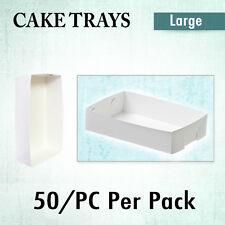 Disposable Cake Tray  Open Standard Large 50/Pk - Cupcake Boxes