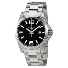 Longines Conquest Black Dial Automatic Mens Watch L37784586