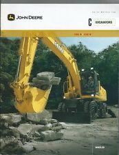 Equipment Brochure - John Deere - 180C W 210C W Wheel Excavator c2005 (E3761)