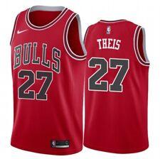 Daniel Theis Chicago Bulls 2021 Deutscher NBA Spieler Herren Basketball Trikot