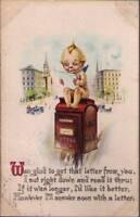 (xrv) Postcard: Kewpie