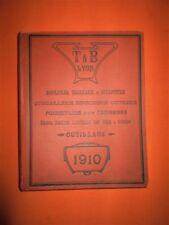 Beau Catalogue. T & B, Lyon. Manufacture de fournitures d'ébénisterie, 1910
