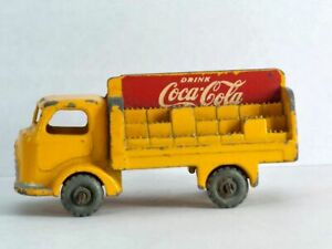 KARRIER BANTAM 2 TON COCA COLA ~ Matchbox Lesney 37 A1. Made in England in 1956