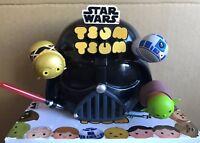 Disney Star Wars Tsum Tsum Figure - Yoda R2d2 C3PO Darth Vader - Genuine - BNIB