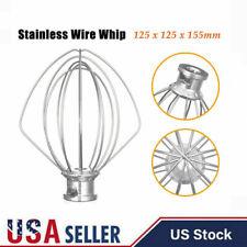 For KitchenAid 6 Wire Whip 4.5Qt Mixer Attachment K45WW Whisk Beater K45 KSM90
