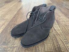 NWOB CARMINA Brown Suede Chukka Boot - Rain Last Rubber sole Size 7 UK / 8 US