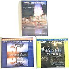 Lot 3 Midnight Twins Series Audiobooks Mixed CD MP3 Jacquelyn Mitchard