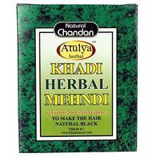Khadi Herbal Mehndi in Natural Black Color by Khadi with Free Shipping Worldwide