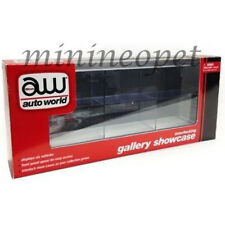 AUTOWORLD AWDC003 CLEAR 6 CAR DISPLAY CASE FOR 1/64 DIECAST MODEL CAR