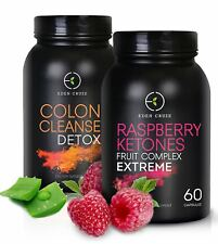 60 Raspberry Ketone 60 Colon Cleanse Weight Loss Aid Made From Wild Raspberry