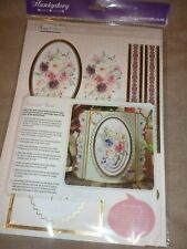 HUNKYDORY FANCY FLORALS CONCEPT CARD COLLECTION PYRAMAGE LAYER CARDS (4)