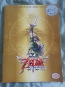 The Legend of Zelda Skyward Sword (Premiere Edition) Strategy Game Guide