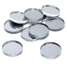 Crafting Mirrors Round Circle Mosaic Mirror Tiles - Several Sizes Available