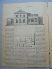 1886 99 Hamburg Warteschule vor dem Dammtor