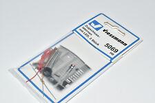 Viessmann 5069  2 Stück Zugschluss- Laternen mit LED- Beleuchtung NEU in OVP