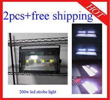 2pcs High Quality Bright 200W Led Strobe Light Effect Disco Light Free Shipping