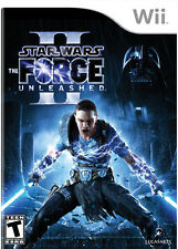 Star Wars: The Force Unleashed II For Wii Game Only 3E