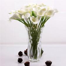 5PCS Artificial Calla Lily Flowers Bouquet Garden Bridal Wedding Home DIY Decor